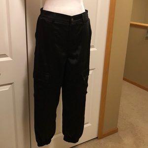 NWOT Satin cargo pants